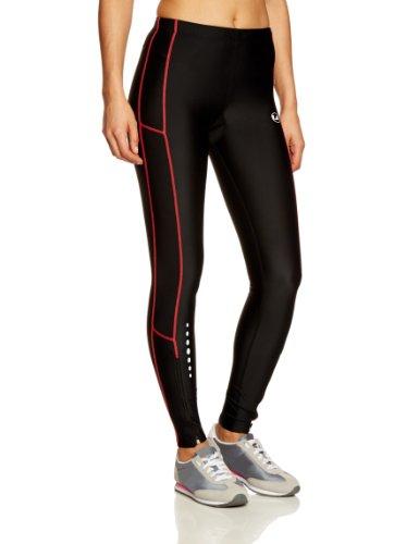 Ultrasport Pantaloni Jogging per Donna con Funzione Quick Dry, Lunghi, Nero/Dubarry, S