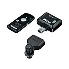 Nikon WR-10 Wireless Remote Controller Set Includes WR-T10 Remote Controller, WR-R10 Remote Transceiver & WR-A10 Remote Adapter