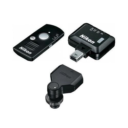 Nikon Wr-10 Wireless Remote Controller Set Includes Wr-T10 Remote Controller, Wr-R10 Remote Transceiver & Wr-A10 Remote Adapter