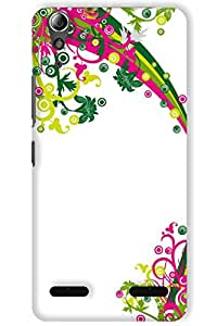 IndiaRangDe Case For Lenovo A6000 Plus Printed Back Cover