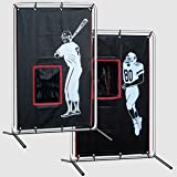 Baseball Football Backstop Catcher with Frame by Cimarrom