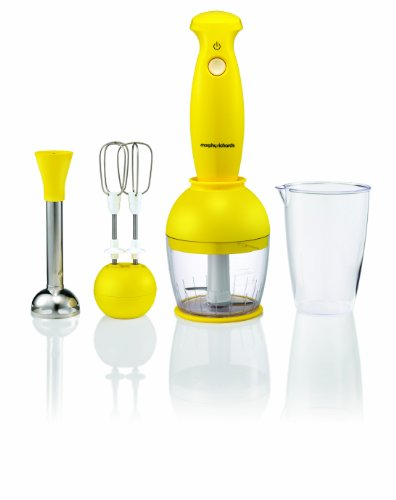 Morphy Richards Accents 48544 Hand Blender Set, Yellow from Morphy Richards