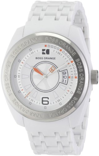 BOSS ORANGE White Resin Mens Watch 1512542