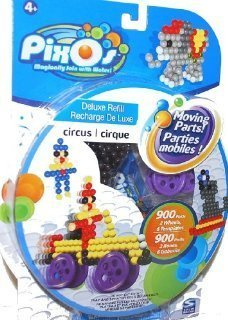 Use The Special Moving Parts To Create Moving Designs. - PixOs Deluxe Refill Circus