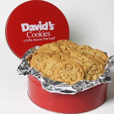 David's Cookies Peanut Butter with Reese's Chips