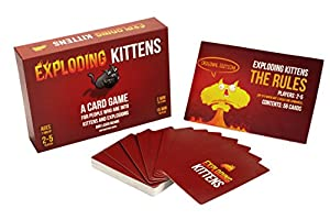 Exploding Kittens: A Card Game About Kittens and Explosions and Sometimes Goats from Exploding Kittens LLC