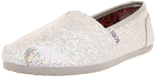 BOBS by Skechers Women's - Earth Mama Silver Comfort 37754 8 UK