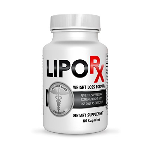 Lipo-Rx-Diet-Pills-for-Extreme-Weight-Reduction-Fat-Burner-and-Thermogenic-Weight-Loss-Supplement-80-Count-Bottle