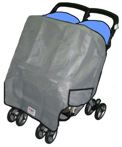 Sashas Sun, Wind and Insect Cover for Foundations Duo SS Twin Side by Side Stroller (Discontinued by Manufacturer)