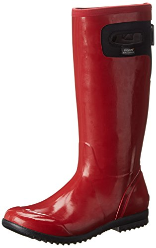 Bogs Women's Tacoma Tall Rain Boot,Red,10 M US (Bogs Rain Boots Women compare prices)