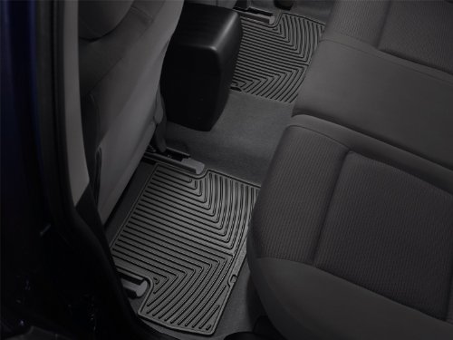 WeatherTech All-Weather Trim to Fit Rear Rubber Mats (Black) (2010 Dodge Ram Weathertech compare prices)