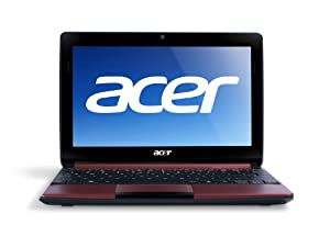 Acer Aspire One AOD270-1835 10.1-Inch Netbook (Burgundy Red)