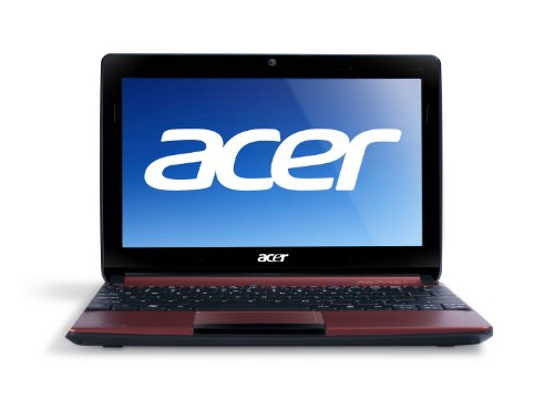 Acer Aspire One AOD257-1648 10.1-Inch Netbook (Burgundy Red)