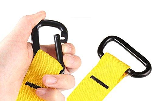LIHAO Cuerdas de Suspensión para Entrenamiento de Ejercicios Fitness: Fortalecimiento, Resistencia y Estiramiento para Los Músculos