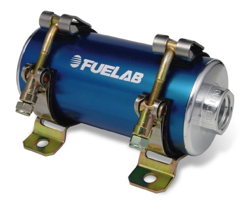 Fuelab 41403-3 Prodigy Carbureted Blue In-Line Fuel Pump