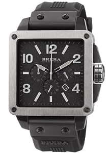 Amazon.com: Brera Orologi - Quattro - Black IP - BRQTC3304