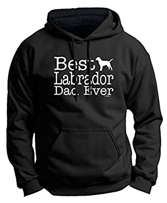 Dog Lover Gift Best Labrador Lab Dad Ever Premium Hoodie Sweatshirt