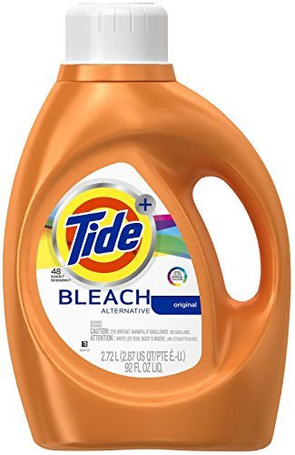 Tide Plus Bleach Alternative Safe on Colors Liquid Laundry Detergent, Original Scent, 2.72 L (59 Loads)