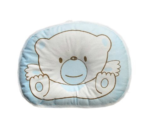 Xhan Hot Newborn Baby Boy Girl Anti-Roll Pillow Flat Head Sleeping Positioner Bear front-148061