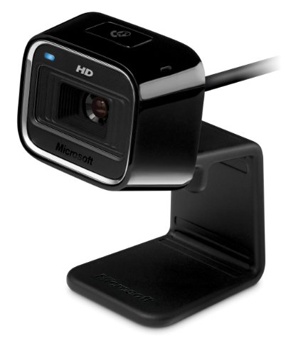 Microsoft - Lifecam Hd-5000 720P Hd Webcam - Black