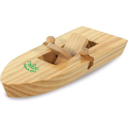 Vilac Rubber Band Powered Boat - 1
