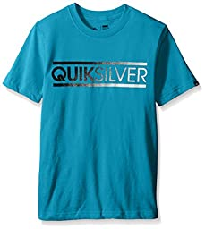 Quiksilver Big Boys Filler Tee Hawaiian Ocean Heather Medium
