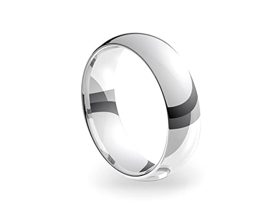 Platinum Standard Court 6mm Wedding Ring