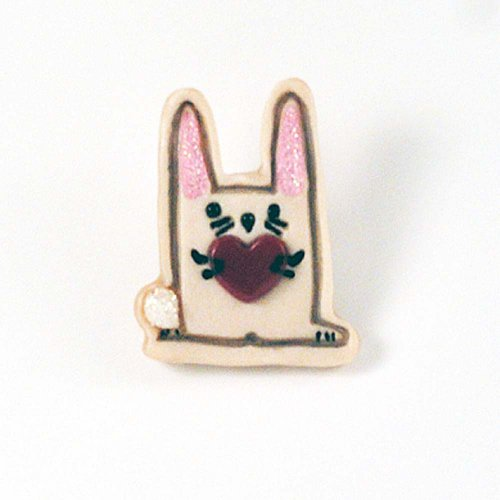 Easter Bunny Rabbit Pin/Brooch