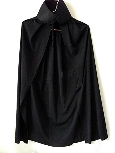 死神 ドラキュラ 衣装 コスプレ  黒 マント ハロウィン 仮装 パーティー イベント グッズ 【 パンプキン 腕輪 付き 】 (子供用)