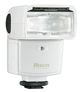 Nissin Speedlite Di 466 FT-W White Four Thirds Digital Flash for Olympus and Panasonic Cameras