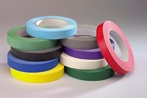 Chenille Kraft 3850 Chenille Kraft Colored Masking Tape Classroom Pack, 3/4x180, 10 Rolls/PK