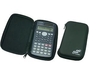 CalcCase Tiny - schwarze Hartschalentasche für Schulrechner zum besonderen Schutz im Schulalltag