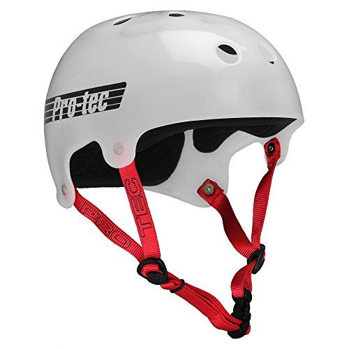 PROTEC Original Bucky Skate Helmet, Translucent White, Small