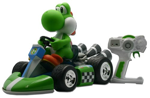 Together Plus - Mario Kart Wii RC Vehicle Super Yoshi 42 cm