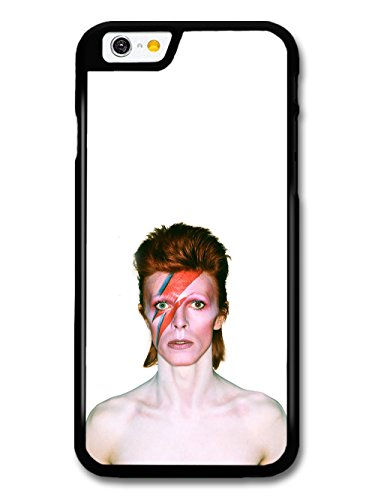 David Bowie Eyes Closed Lighting Portrait custodia per iPhone 6 6S
