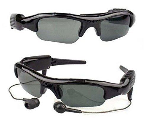 Eovas 8G Hidden Camera Sunglasses 4 in 1 MP3 Player DVR Mini Camera Camcorder Video Recorder Support Micro SD Card (Video To Mp3 compare prices)