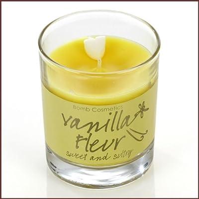 Bomb Cosmetics Scented Candle Tin Vanilla Fleur by Bomb Cosmetics