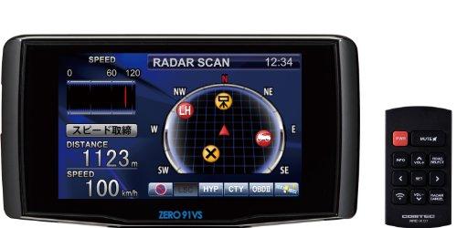 コムテック(COMTEC)超高感度GPSレーダー探知機 ZERO 91VS