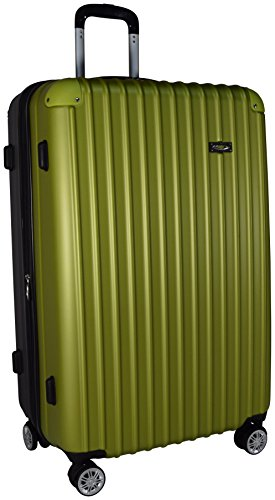 Kemyer Series 700 Hardside Luggage Spinner Wheeled Medium Suitcase 29-inch (Green) (Hard Side Expandable Luggage compare prices)