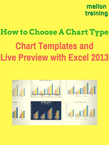 How to Choose A Chart Type, Chart Templates and Live Preview with Excel 2013