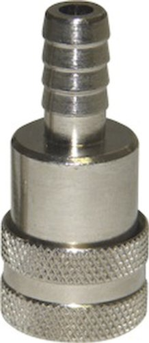 SeaSense Nissan, Tohatsu Fuel Connector 3/8-Inch Hose Female, Chrome-Plated Brass