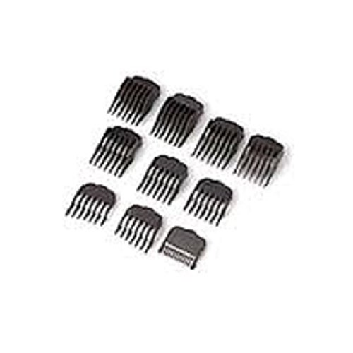 wahl hair clipper guide comb set 10 pieces. Black Bedroom Furniture Sets. Home Design Ideas