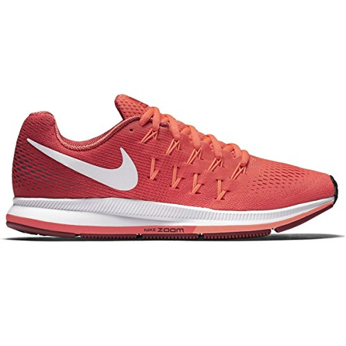 Nike Women's Air Zoom Pegasus 33 Running Shoe Bright Crimson/White/Gym Red/Bright Mango 10 (Air Supply Shoes compare prices)