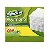 Swiffer Dry Cloth with Gain 32 Count(Pack of 4)