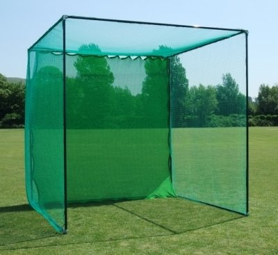 GOLF CAGE - Includes Galvanised Frame  &  Net (Professional Golf Club Spec)