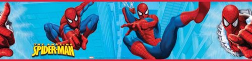 RoomMates RMK1186BCS Amazing Spiderman Peel & Stick Border - 1