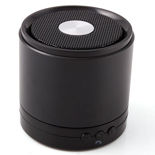 Lumen® Portable My Vision A61 Mini Bluetooth Speaker Stereo Loudspeaker For Iphone 4S 5S 5C, Ipad, Nexus 7 10, Galaxy S4 S3 Tab 3 2,Andorid Smartphone Mp3,Mp4 And All The Devices With 3.5Mm Headphone (Black)