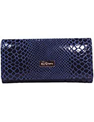 KARP Vintage Snake Skin Textured Leather Women's Clutch For Casual & Business (Clutch Style -21)