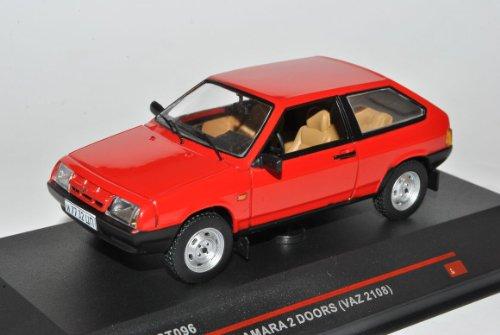 Lada Samara VAZ 2108 Rot Ab1984 IST 096 1/43 Ist Ixo Modell Auto