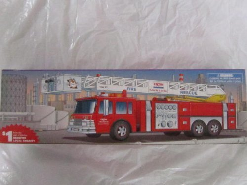 Exxon 1998 Fire Rescue Truck 7 Series by Exxon